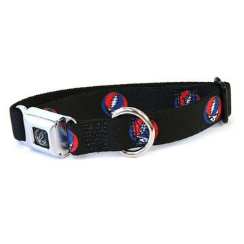 DCCKJY1 Grateful Dead - Steal Your Face Repeat Dog Collar