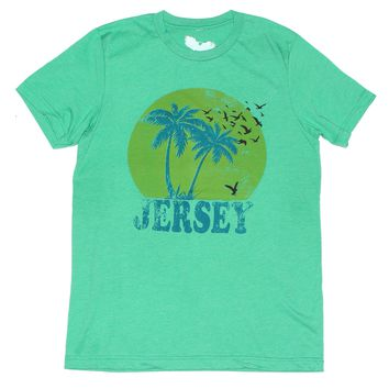 New Jersey T-shirt - Jersey Shore Paradise Tee - Unisex