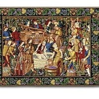 La Vendanges Classic Woven Wall Tapestry