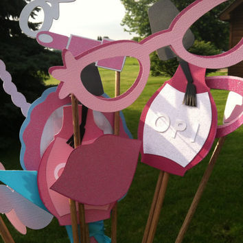 PHOTO BOOTH PROPS little miss diva