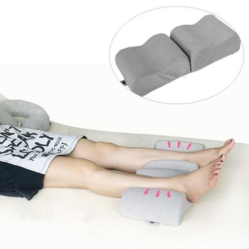 Knee Pillow Memory Foam Leg Pillow For Leg Back Hip Pain Relief Foldable