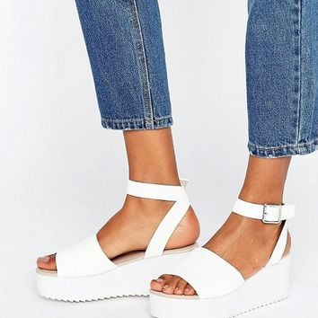 ASOS TAKE OFF Wedge Sandals at asos.com