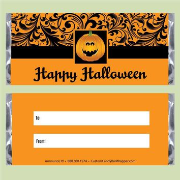 Beauty Halloween Candy Wrappers