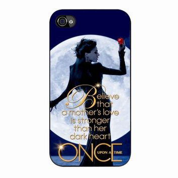 Once Upon A Time Regina Evil Queen Believe iPhone 4/4s Case