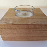 Votive Candle Holder, Wood Candle Holder, Candle Holder, Single Candle Holder, Candles and Holders
