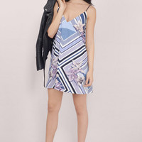 Stylestalker Orchid Shadows Tent Dress $162
