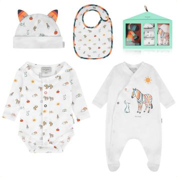 Paul Smith Baby Boys 5-piece Zebra Gift Set