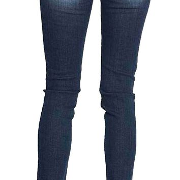 Miss Me Silver Shower Broad Stitch Skinny Jeans