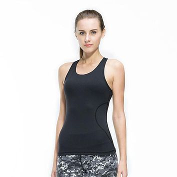 Women Sleeveless Quick Dry Breathable Knitted Vest 0952-34