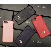 PRADA Fashion iPhone Phone Cover Case For iphone 6 6s 6plus 6s-plus 7 7plus 8 8plus X
