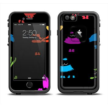 The Cute Fashion Cats Apple iPhone 6 LifeProof Fre Case Skin Set