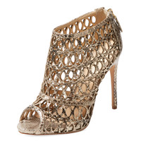 Python Cut-Out Bootie