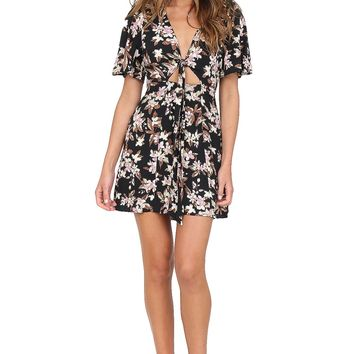 Black Floral Dress at Blush Boutique Miami - ShopBlush.com : Blush Boutique Miami – ShopBlush.com