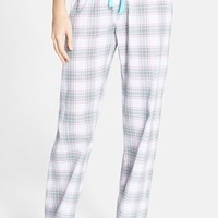 Women's PJ Salvage Plaid Cotton Voile Pajama Pants