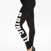 BRING IT LEGGINGS - Black