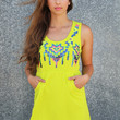 Had Me At Sequin Dress {Lime}