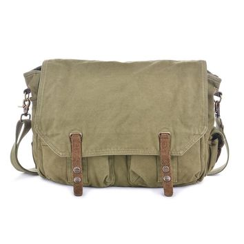 Vintage Canvas Messenger Bag #60403