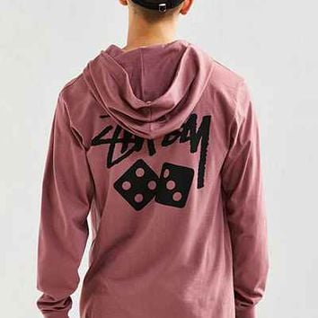 Stussy Dice Hooded Tee - Urban Outfitters