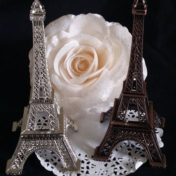 Eiffel Tower Wedding Cake Topper, Antique Wedding Favor, Paris Wedding Decoration, Eiffel Tower Baby Shower, Eiffel Party Theme Decoration