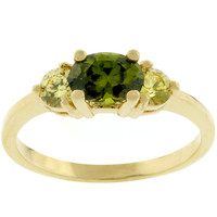 Oval Composer Cubic Zirconia Ring