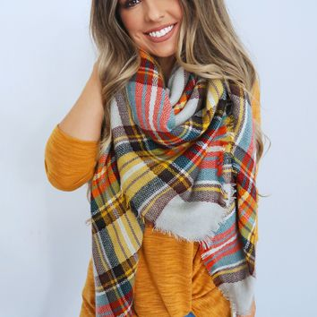Wrapped Up In The Stars Scarf: Multi