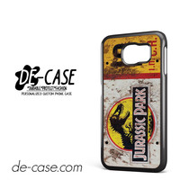 Jurassic Park Ticket For Samsung Galaxy S6 Samsung Galaxy S6 Edge Samsung Galaxy S6 Edge Plus Case Phone Case Gift Present