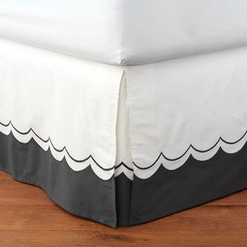 The Emily & Meritt Sweet Scallop Bedskirt