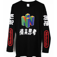 N64 LONG SLEEVE TEE – tibbs & BONES