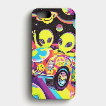 Lisa Frank Neon Tiger And Monkey 90S iPhone SE Case