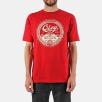 Obey Third Eye Sound T-shirt - Red | Urban Industry