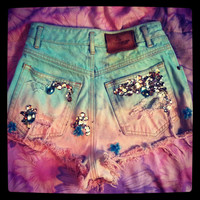 Make Your Own High Waisted Shorts Any Size
