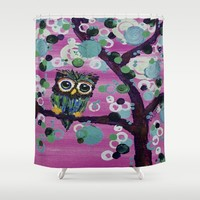 :: Gemmy in Pink :: Shower Curtain by :: GaleStorm Artworks ::