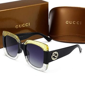 GUCCI Unique Cute Cool Sunglasses