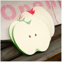 Apple Slice Sticky Note