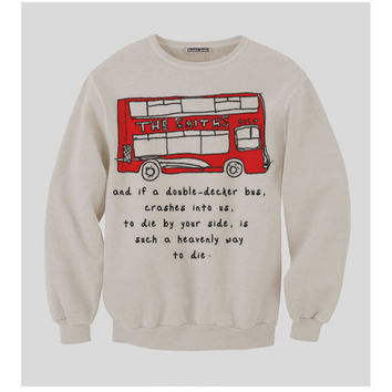 Pre-Order Double Decker Smiths Bus Sweatshirt