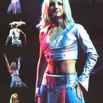Britney Spears Live Portrait Poster 24x34