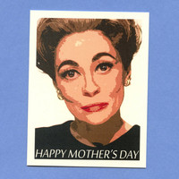 MOMMIE DEAREST Mother's Day Card  As featured on by seasandpeas