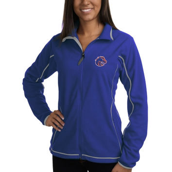 Boise State Broncos Antigua Women's Ice Fleece Jacket – Royal Blue