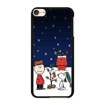 Charlie Brown Christmas Peanuts 001 iPod Touch 6 Case