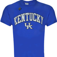 University of Kentucky ARCH on Blue Shirt