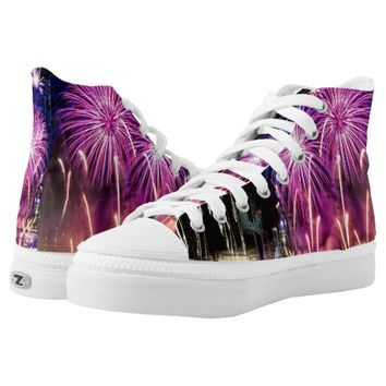 Fireworks High-Top Sneakers