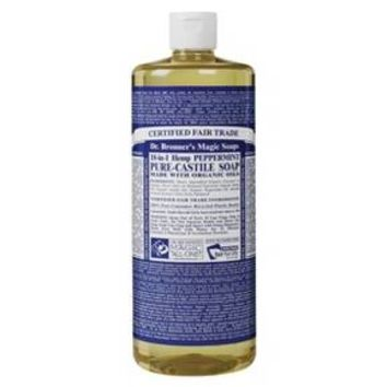 Dr. Bronner's Pure Castile Soap - Peppermint (32 oz.)