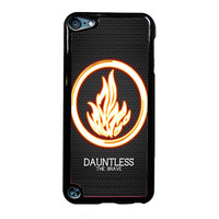 divergent dauntless the brave FOR IPOD TOUCH 5 CASE *RA*