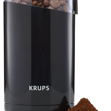 Electric Coffee and Spice Grinder with Stainless Steel Blades by KRUPS