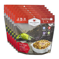 Wise Company Camping Meals - Chili Mac with Beef (Case of 6 Pouches)