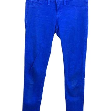 Flying Monkey Jeans Style L7384 Blue Skinny Stretch Womens 5 Actual 29 x 32 - Preowned