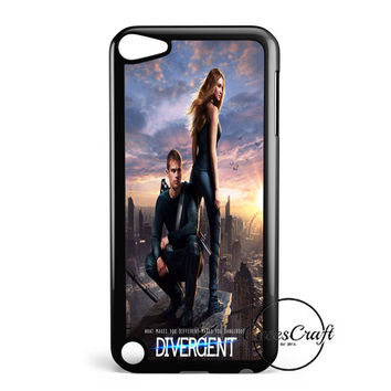 Divergent  Mortal Instrument  And Hunger Game iPod Touch 5 Case