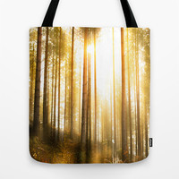 i have seen things... Tote Bag by HappyMelvin