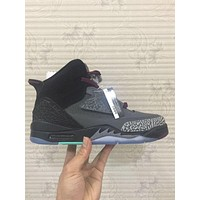 Nike Jordan Son Of Mars, Dark Grey / Bordeaux 512245-038 Basketball Sneaker