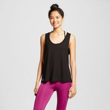 sWEat-by-Whitney-Port-Women-039-s-Wear-It-Front-or-Back-Tank-Top/ XL